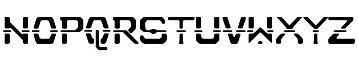 Nebullium Font UPPERCASE