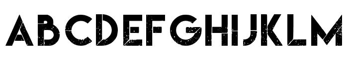 Nebulous Regular Font UPPERCASE