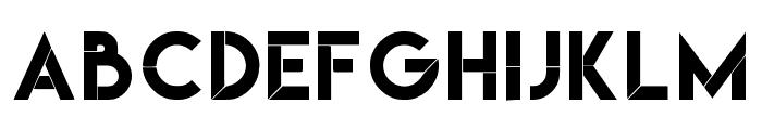 Nebulous Regular Font LOWERCASE