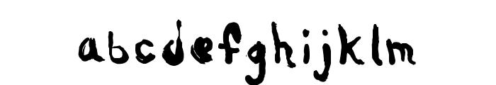 Nebulus Font LOWERCASE