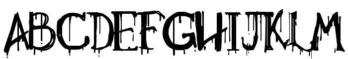 Necropsy Font UPPERCASE
