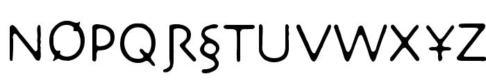 NecroticTissue Font UPPERCASE