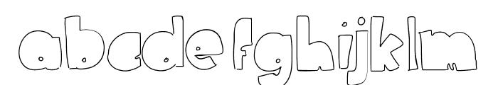 NederlandFantasy Font LOWERCASE