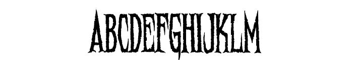 Needleteeth Regular Font UPPERCASE