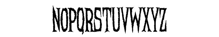 Needleteeth Regular Font LOWERCASE