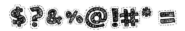 Needlework Good Font OTHER CHARS
