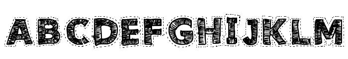 Needlework Good Font UPPERCASE
