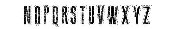 Needlework US Font UPPERCASE