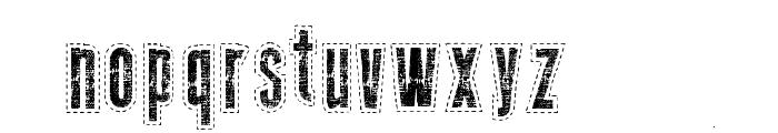 Needlework US Font LOWERCASE