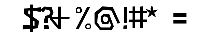 Negatori Font OTHER CHARS