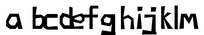 Negatori Font LOWERCASE