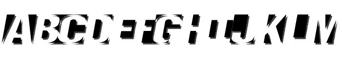 Negatron Font UPPERCASE