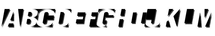 Negatron Font LOWERCASE