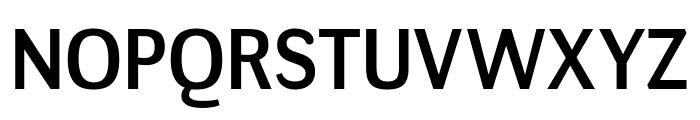 NegotiateRg-Regular Font UPPERCASE