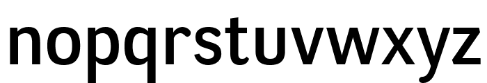 NegotiateRg-Regular Font LOWERCASE