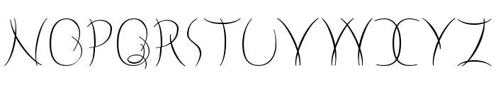 Neige Font UPPERCASE