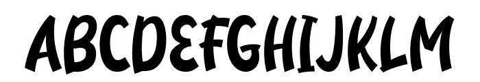 Neigfriste Font UPPERCASE