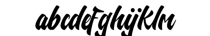 Nelda Free Font LOWERCASE