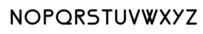 Nemesia bold Font UPPERCASE