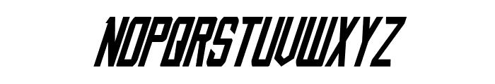 Nemesis Enforcer Italic Font UPPERCASE