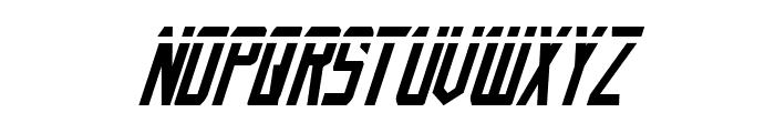 Nemesis Enforcer Laser Italic Font LOWERCASE