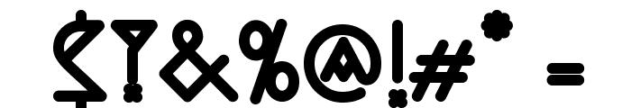 Nemoy-Bold Font OTHER CHARS