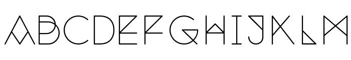 Nemoy Light Font UPPERCASE