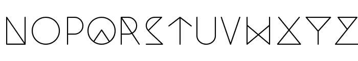 Nemoy Light Font LOWERCASE