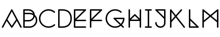 Nemoy Medium Font UPPERCASE