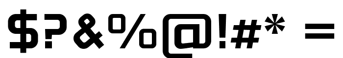 Neo Fobia Bold Font OTHER CHARS
