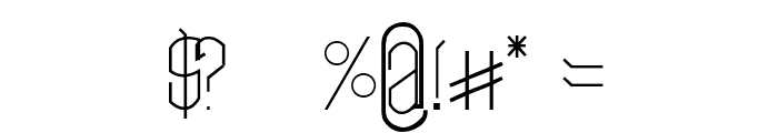 Neo LR Font OTHER CHARS