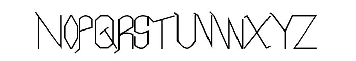 Neo LR Font UPPERCASE