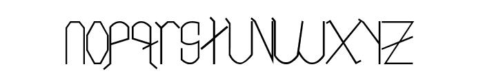 Neo LR Font LOWERCASE