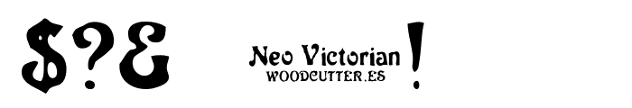 Neo Victorian Font OTHER CHARS