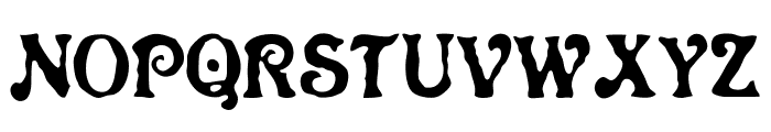 Neo Victorian Font UPPERCASE