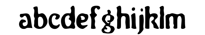 Neo Victorian Font LOWERCASE
