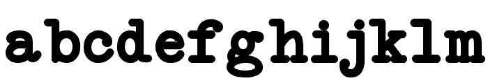 NeoBulletin Bold Font LOWERCASE