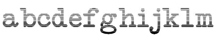 NeoBulletin Gradient Font LOWERCASE