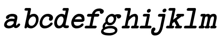 NeoBulletin Italic Font LOWERCASE