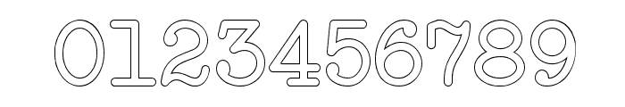 NeoBulletin Outline Font OTHER CHARS