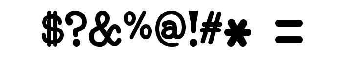 NeoBulletin Semi Bold Font OTHER CHARS