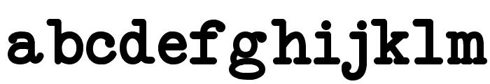 NeoBulletin Semi Bold Font LOWERCASE