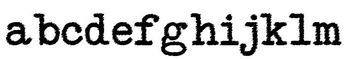 NeoBulletin Trash Font LOWERCASE