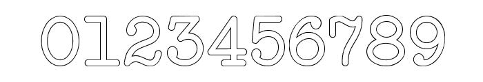 NeoBulletinOutline Font OTHER CHARS