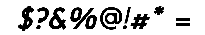 NeoGothisADFStd-BoldOblique Font OTHER CHARS