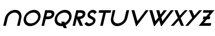 NeoGothisADFStd-BoldOblique Font UPPERCASE