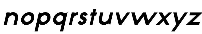 NeoGothisADFStd-BoldOblique Font LOWERCASE