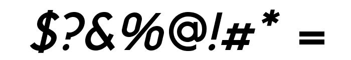 NeoGothisADFStd-DemiBdOblique Font OTHER CHARS