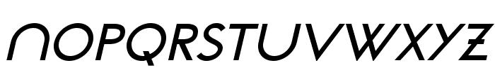 NeoGothisADFStd-DemiBdOblique Font UPPERCASE