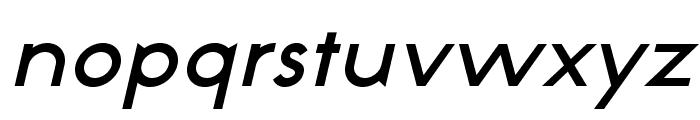NeoGothisADFStd-DemiBdOblique Font LOWERCASE
